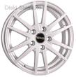 6 x 15 ET45 d67,1 PCD5*114,3 Tech-Line 535 Silver