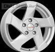 6,5 x 16 ET50 d66,1 PCD5*114,3 K&K Duster (КС632) Сильвер