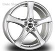 6,5 x 17 ET49 d66,5 PCD5*112 Borbet F2 Brilliant Silver