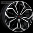 7,5 x 17 ET55 d63,3 PCD5*108 Replica FD525 LegeArtis Concept BKF