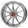 8,5 x 17 ET45 d75 PCD5*114,3 OZ Raсing Formula HLT Grigio Corsa Bright