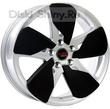 6,5 x 16 ET46 d67,1 PCD5*114,3 Replica Ki502 Concept S+black insert