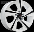 7 x 18 ET41 d67,1 PCD5*114,3 Replica Ki509 LegeArtis Concept W+B