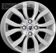 6 x 15 ET35 d58,6 PCD4*98 K&K КС620 Сильвер - Datsun