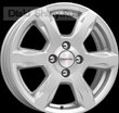 6 x 15 ET50 d60,1 PCD4*100 K&K КС693 Сильвер - Almera G11