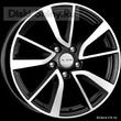 7 x 17 ET54 d57,1 PCD5*112 K&K КС699 Алмаз черный - ZV VW Jetta