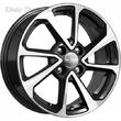 6 x 15 ET48 d54,1 PCD4*100 K&K КС861 Алмаз черный - ZV Hyundai Solaris I