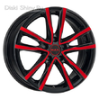 6,5 x 16 ET40 d76 PCD5*114,3 MAK Milano Black and Red