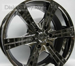 9 x 20 ET50 d110,2 PCD5*150 Mi-tech MK-150S Black Chrome