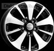 6,5 x 16 ET50 d66,1 PCD5*114,3 K&K КС688 Алмаз черный - ZV Renault Duster